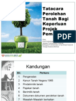 4. Tatacara Perolehan Tanah