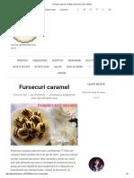 Fursecuri Caramel - Retete Culinare by Teo's Kitchen
