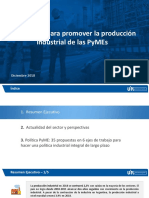 Las 35 medidas de la UIA al Gobierno