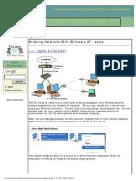 Windows XP Network Bridge Tutorial (Media Bridge)