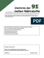 Das Geheimnis der 91 essentiellen Naehrstoffe - Dr. Joel D. Wallach.pdf