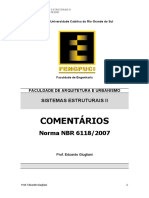 Comentarios NBR 6118 DOC
