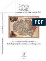 Anthologie de Poesie Roumaine Contemporaine