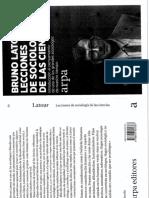 Latour, Bruno - El Botones Está en Huelga