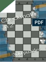 Checkmate in 2 - 300 Puzzles (Aleksandar Trailovic)