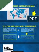 Balanza de Pagos y Comercio Internacional .