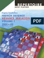 Sveshnikov-French defense advance variation vol 1.pdf