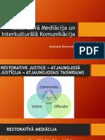 Restoratīva Mediācija un Interkulturālā Komunikācija