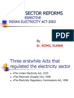 AC Ppt Power Sector Reforms