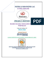 Mahindra BLERO SLX/SLE MOULDED ROOF WRINKLES