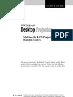 Projector Manual 393