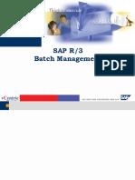 Batch Management