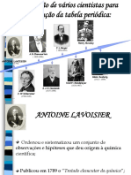 Tabela Periódica História