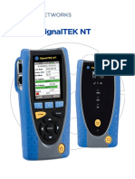 SignalTEK NT Manual Spanish