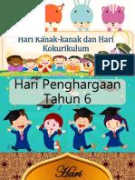 Hari Kanak-kanak Dan Hari Kokurikulum