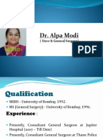 Dr. Alpa Modi - Best General Surgeon/ Doctor in Thane West(Maharashtra