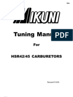 Mikuni Tuning Manual for HSR42_45 Carbs