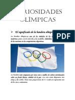 Curisidades Olímpicas 3 6º