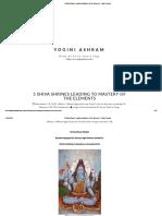 5 Shiva Shrines Leading to Mastery of the Elements - Yogini Ashram