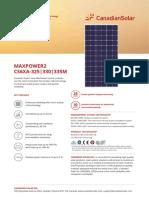 Canadian Solar Datasheet CS6XAM MaxPower2 v5.4en