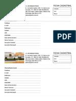 Ficha Cadastral J A de Araújo Paiva