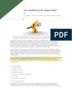 Checklist Para Auditoría De