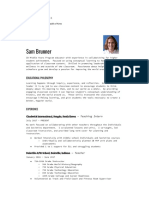 resume recommendation reference  1