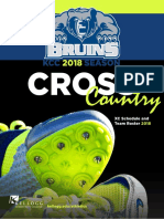 2018-19 Cross-Country Media Guide