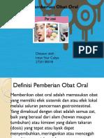Ppt Obat Oral