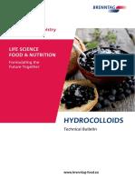 Technical Bulletin Hydrocolloids