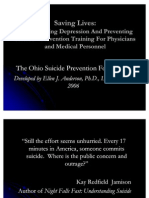 Physicians Suicide Awareness Training
