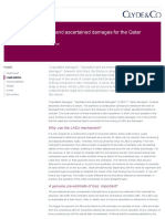 A Guide to Liquidated and Ascertained Damages for the Qatar Constructi