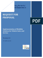 Engage RFP Mobility Sales and Service 1.0