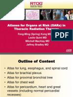 Contorno de Órgão de Risco Thoracic Radiation Therapy