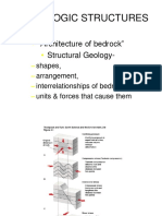 Geological structures