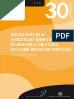 Estratégias identitárias de Mulheres GB em PT