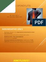 Ankylosing Spondylitis Ishak