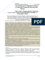 Formulation D'un Medicament Traditionnel Ameliore Anti Emetique A Base Des Graines De Garcinia kola Heckel