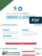 Android Classroom EduTech Madrasah