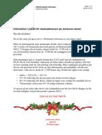 Information Till Vårdnadshavare December 2018