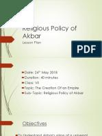 Religious Policy of Akbar