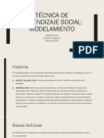 Técnica de Aprendizaje Social