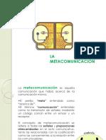 La Metacomunicacion