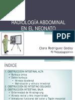 Radiologia Abdomen Neonato