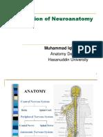 Introduction of Neuroanatomy (2016).pptx