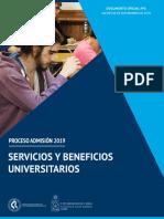Servicios Beneficios Universitarios psu 2019