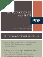 Wavelets Intro