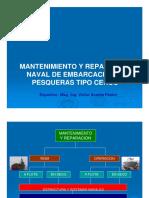 Mantenimiento de Embarcaciones Pesqueras .VNAP