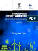 Background Paper_Electricity Markets of the Future