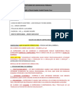 Direito Empresarial - Cláudio Calo